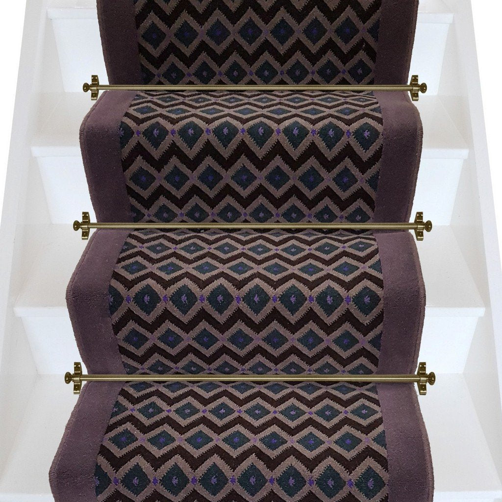 Geometric Stairs Geometric Staircase Melbourne: Axminster Carpets Funky Geometric & Brintons Gorgeous Plum