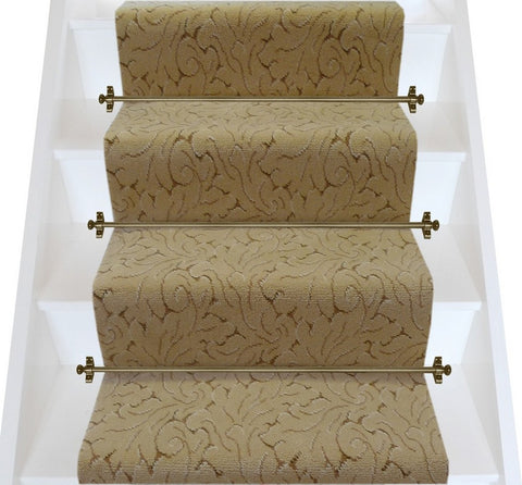 Axminster Carpets Royal Clovelly Symphony Casino Cream Broadloom Stair Runner (per M)