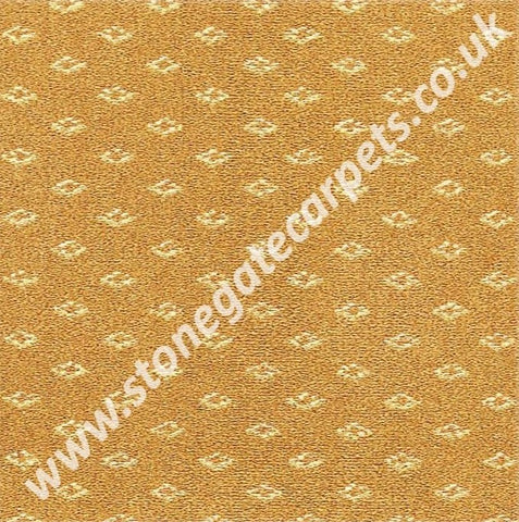 Brintons Carpets Marquis Coronet Gold Diamond Carpet Remnant