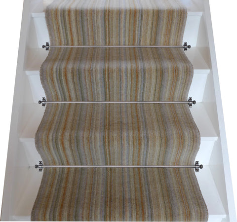 Brintons Carpets Pure Living Sandalwood Strata Stair Runner (per M)