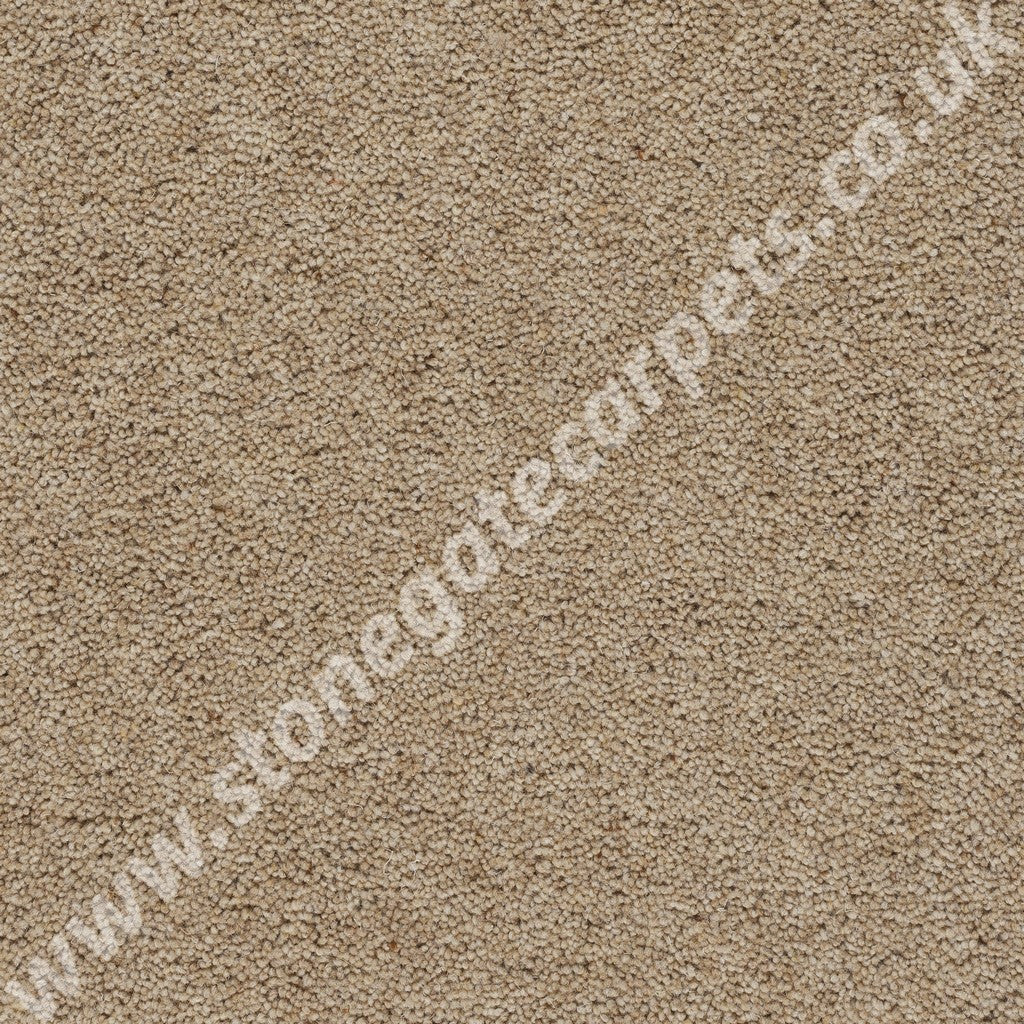 Axminster Carpets Devonia Heather Plain Custard Cream