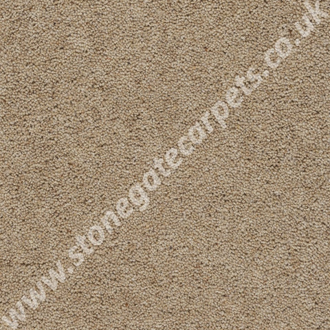 Axminster Carpets Devonia Heather Plain Custard Cream Carpet 333/76000
