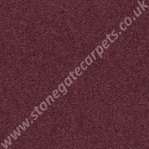 Axminster Carpets Devonia Plain Berryburst Carpet Remnant