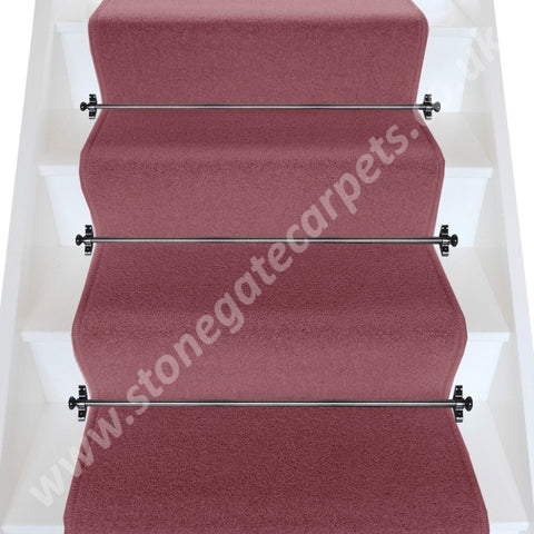 Axminster Carpets Devonia Plain Berryburst Stair Runner (Per M)