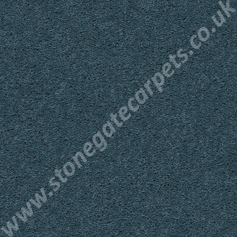 Axminster Carpets Devonia Plain Blue Grass Carpet 1186/76000