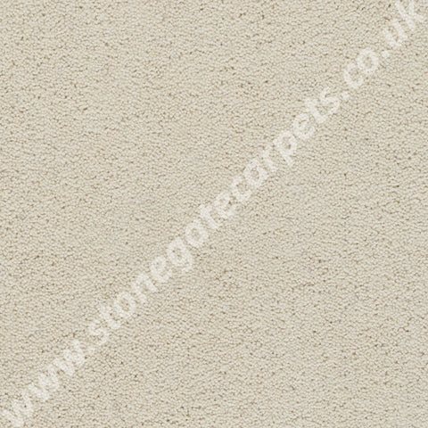 Axminster Carpets Devonia Plain Cream Tea Carpet 375/76000
