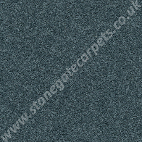 Axminster Carpets Devonia Plain Ocean Deep Carpet 356/76000
