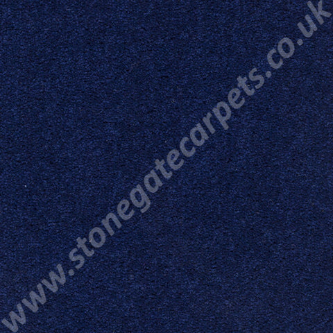 Axminster Carpets Devonia Plain Town Blue Carpet 381/76000