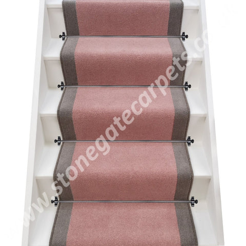 Axminster Carpets Devonia Plains Bliss & Grange Wilton Greyhound Stair Runner (per M)