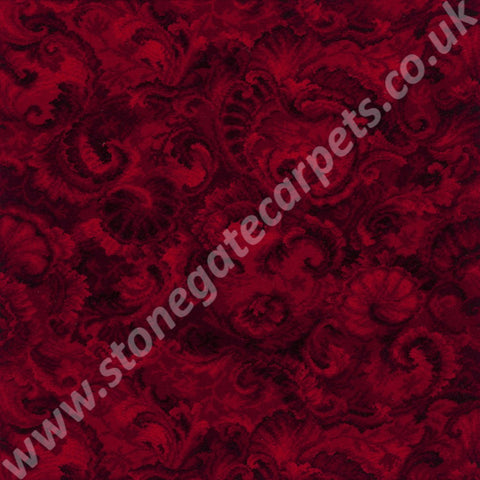 Axminster Carpets Exeter Seashells Red Carpet 012/03031