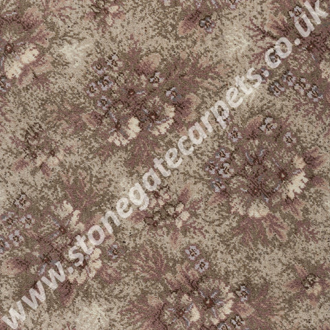 Axminster Carpets Exmoor French Impressions Erica Pink Carpet 232/15020