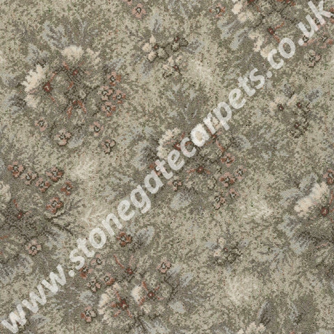 Axminster Carpets Exmoor French Impressions Light Green Carpet 186/15020