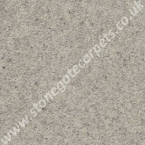 Axminster Carpets Jacob Twist Chalk Carpet Remnant 1040
