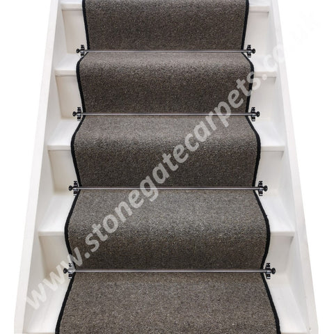 Axminster Carpets Jacobs Twist Fen Stair Runner (per M)