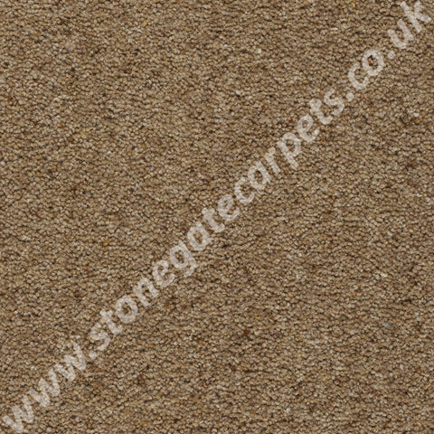 Axminster Carpets Moorland Heathers Tweed Estrella Gold Carpet 255/50000