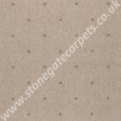 Axminster Carpets Princetown Gem Cornish Cream Carpet Remnant 258/14013