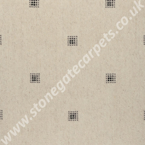Axminster Carpets Princetown Picasso Snowdrop Black Carpet Remnant 180/14046