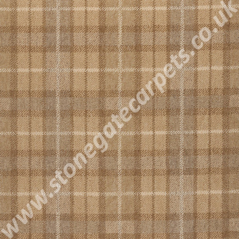 Axminster Carpets Princetown Plaid Autumn Glow Carpet 148/14030