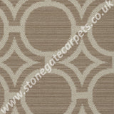 Axminster Carpets Royal Borough Geometric Kensington Egyptian Dark Cotton Carpet
