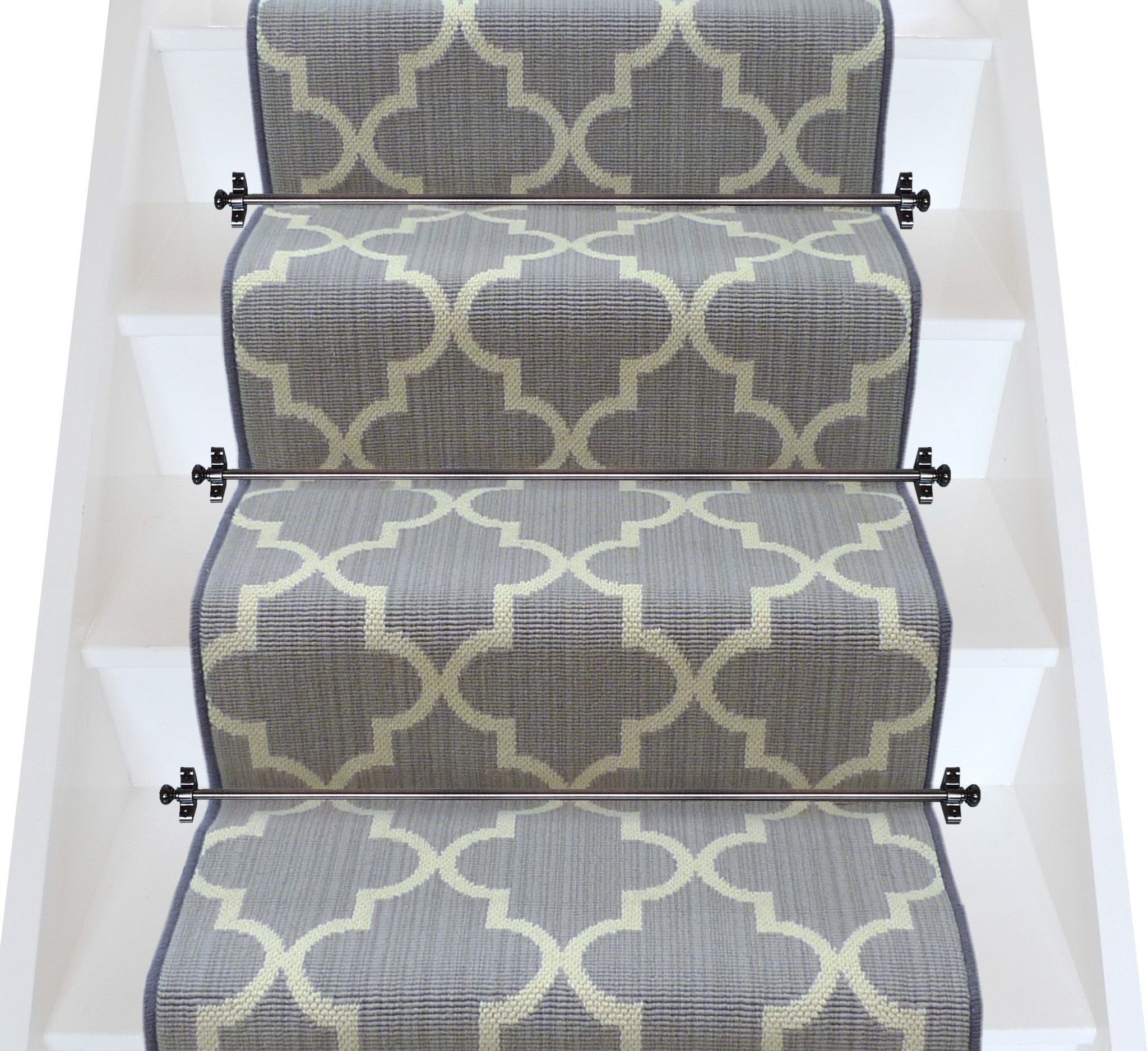 Axminster Carpets Royal Borough Trellis Windsor Steel Mid Grey (per M²)