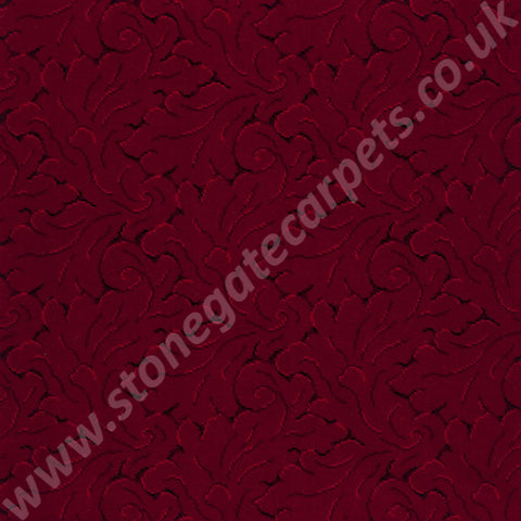 Axminster Carpets Royal Clovelly Symphony Tapestry Red Carpet 010/88009