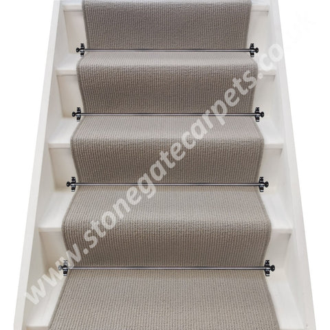 Axminster Carpets Simply Natural Ribgrass Breccia Stair Runner (per M)