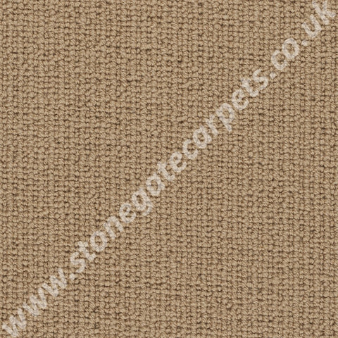 Axminster Carpets Simply Natural Ribgrass Single Colour Straw Carpet 4506