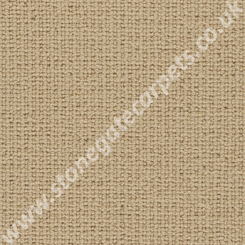 Axminster Carpets Simply Natural Ribgrass Single Colour Wheat Carpet 4536