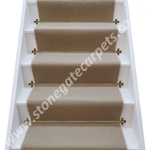Axminster Carpets Simply Natural Ribgrass Yew Stair Runner (per M)