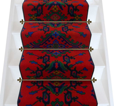 Axminster Carpets Tamar Turkey Red Broadloom Stair Runner (per linear metre) (LOW STOCK)