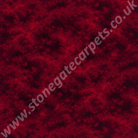 Axminster Carpets Torbay Cumuli Cardinal Red Carpet 012/11705