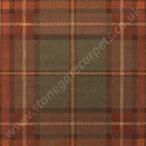 Brintons Carpets Abbeyglen Cavan Plaid Carpet Remnant