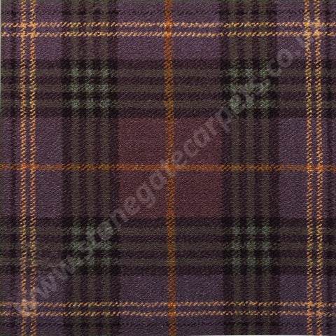 Brintons Carpets Abbeyglen Fermanagh Plaid Carpet Remnant