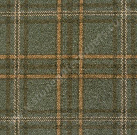 Brintons Carpets Abbeyglen Wexford Plaid Carpet Remnant