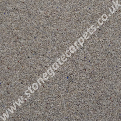 Brintons Carpets Bell Twist Chalk Carpet Remnnt B203