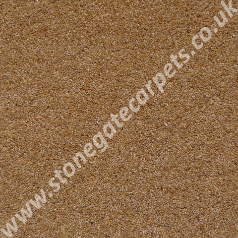 Brintons Carpets Bell Twist Coffee Carpet Remnant B8