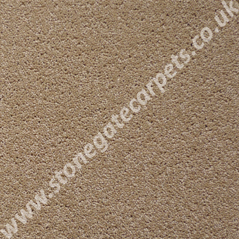 Brintons Carpets Bell Twist Cookie Dough Carpet Remnant 64282