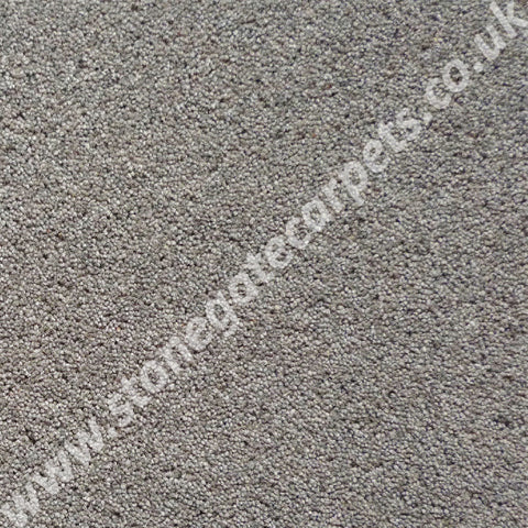 Brintons Carpets Bell Twist Granite Carpet Remnant B290