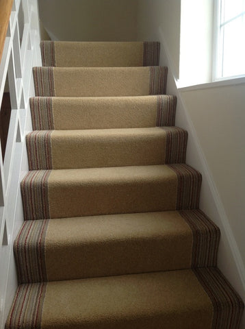 Brintons Carpets Bell Twist Kalahari Desert Pure Living Carousel Cord Fully Fitted Stair Carpet (per M)