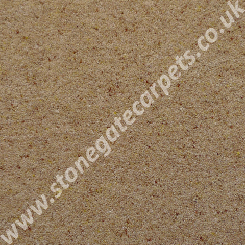 Brintons Carpets Bell Twist Maize Carpet Remnant B292