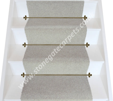 Brintons Carpets Bell Twist Pumice Plain Stair Runner (per M)