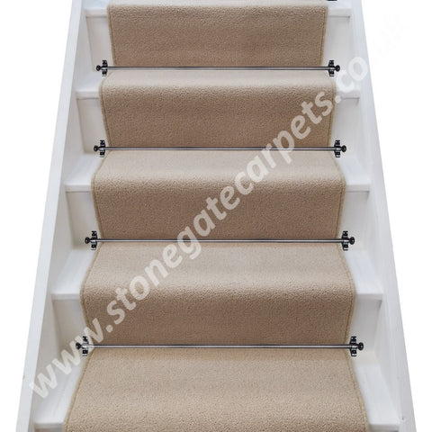 Brintons Carpets Bell Twist York Stone Stair Runner