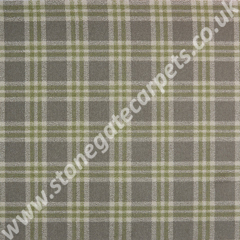 Brintons Carpets City Plaids Mayfair Carpet 10/50237 Carpet Remnant