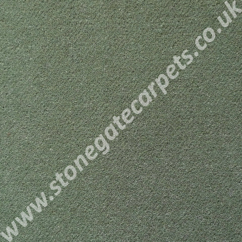 Brintons Carpets Finepoint Lakeland Green Carpet Remnant F274