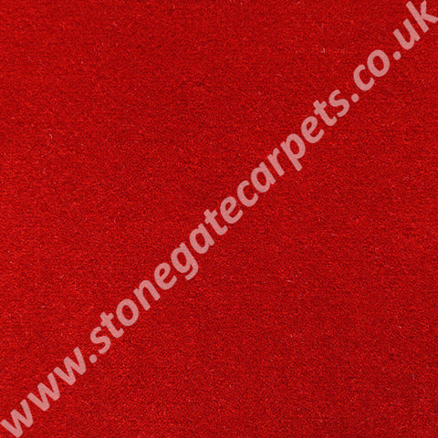 Brintons Carpets Finepoint Rothko Red Carpet Remnant F41
