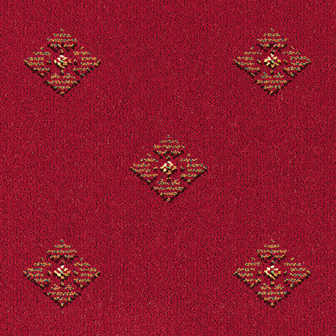 Brintons Carpets Galleria Garnet Diamond Carpet Remnant 1/18061