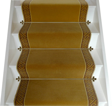 Brintons Carpets 27 Inch Galleria Gold Stair Runner - Only £67.50 for 4.30m x 0.69m