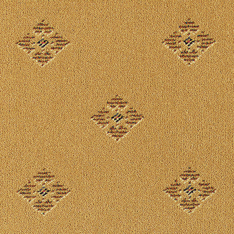 Brintons Carpets Galleria Gold Diamond Carpet Remnant 36/18061