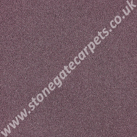Brintons Carpets Laura Ashley Bell Twist Grape Carpet Remnant 29982