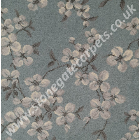 Brintons Carpets Laura Ashley Iona Duck Egg 3/50315 (per M²)